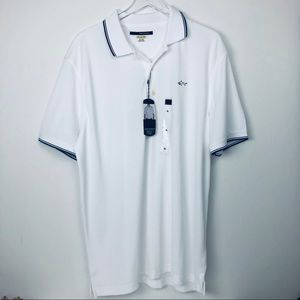 Greg Norman white polo new with tags extra large